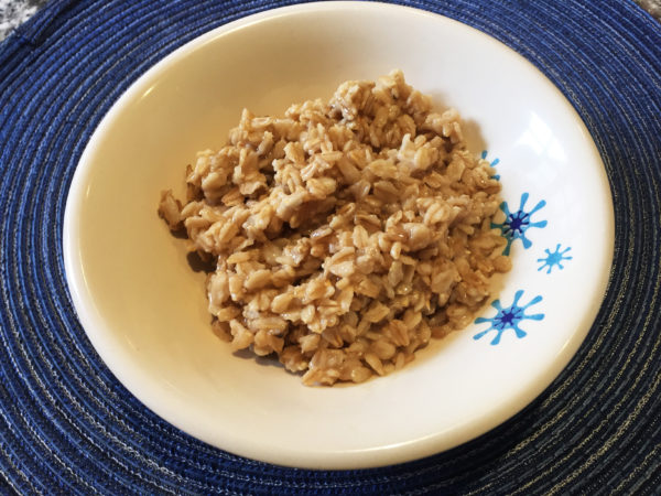Cooked Rolled Oats Prep 6