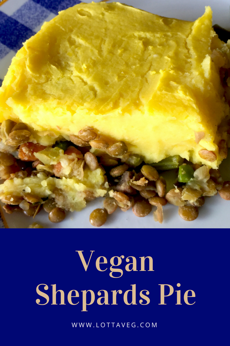 Vegan Shepards Pie Pin