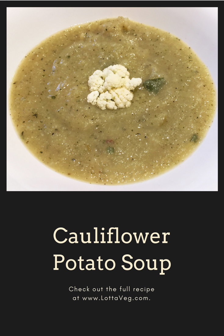 Cauliflower Potato Soup Pin