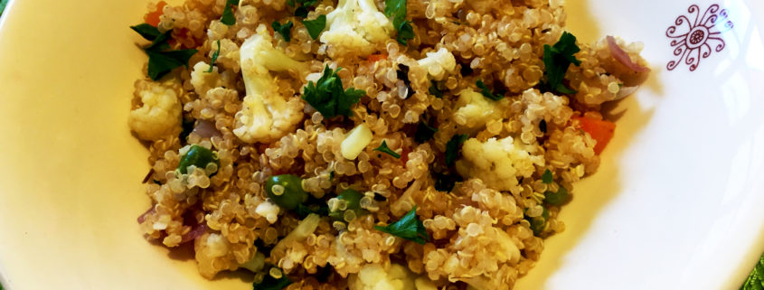 Cauliflower Quinoa