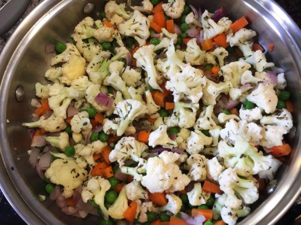 Cauliflower Quinoa Prep 3