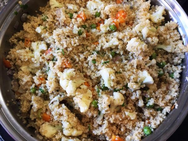 Cauliflower Quinoa Prep 6