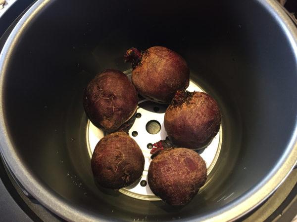 Ginger Vinaigrette Beets Prep 1