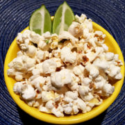 Popcorn with Lime Juice