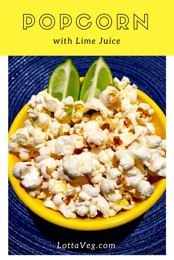 Popcorn with Lime Juice Pin