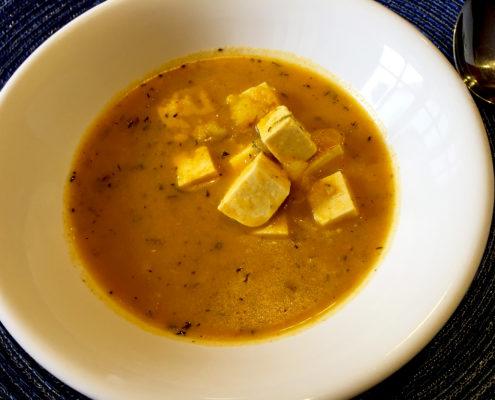 Vegan Locro de Papa Soup