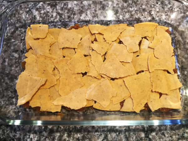 Vegan Mexican Lasagna Prep 5