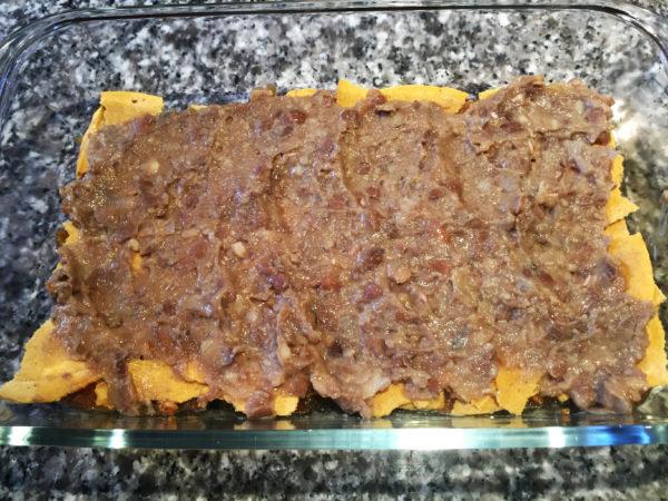 Vegan Mexican Lasagna Prep 6
