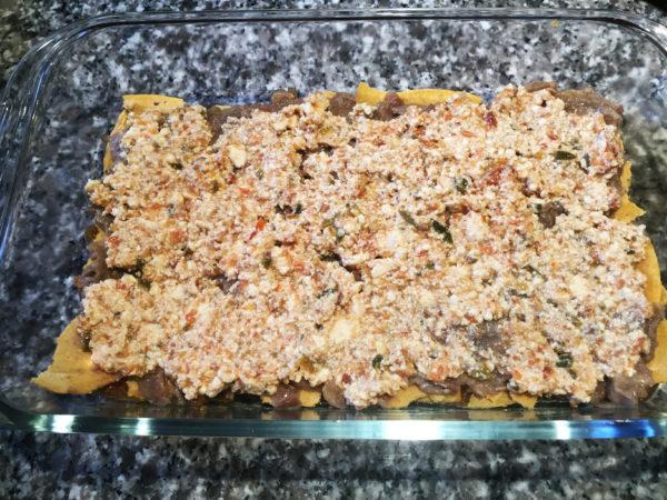 Vegan Mexican Lasagna Prep 7