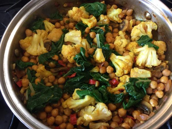 Cauliflower Chickpea Buddha Bowl Prep 9