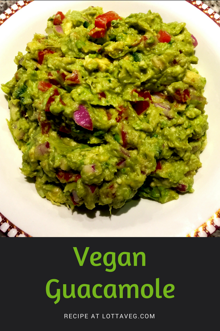 Vegan Guacamole Pin