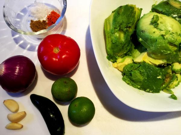 Vegan Guacamole Prep 1