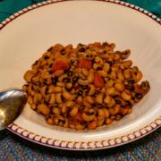 Vegan Black Eyed Peas
