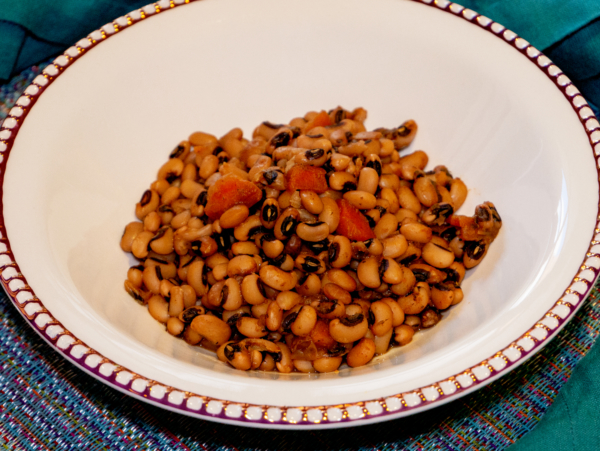 Vegan Black Eyed Peas 2