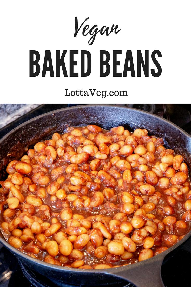 Vegan Baked Beans Pin