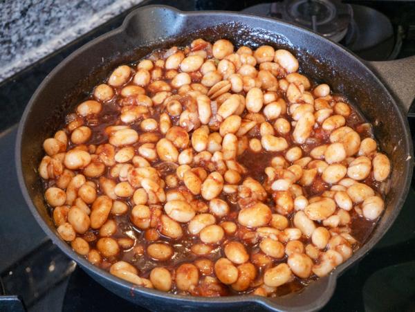 Vegan Baked Beans Prep 6