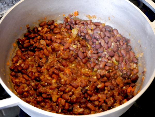 Easy Black Bean Soup Prep 2