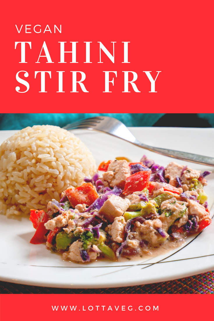 Tahini Stir Fry Pin