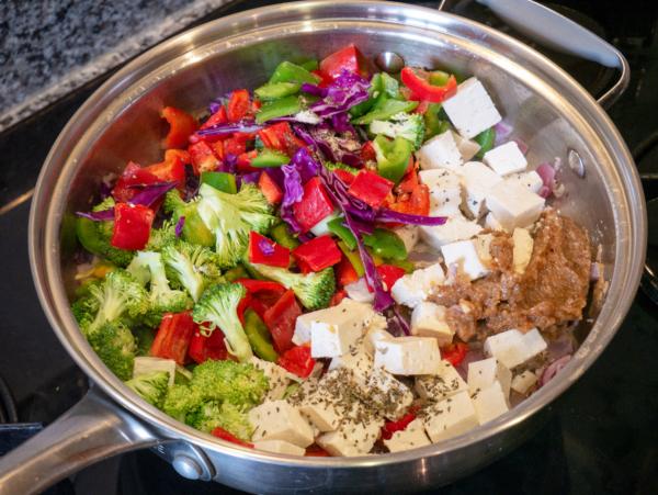 Tahini Stir Fry Prep 5