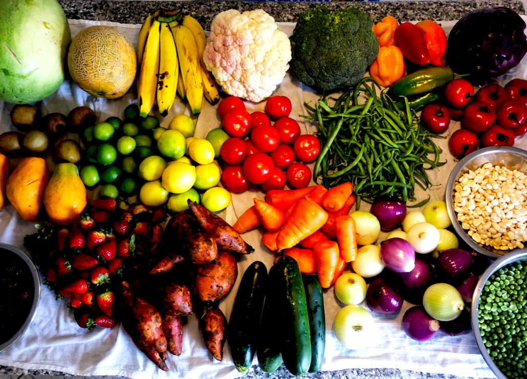 The Omnivore's Dilemma Grassfed Ecuador Fruits Veggies