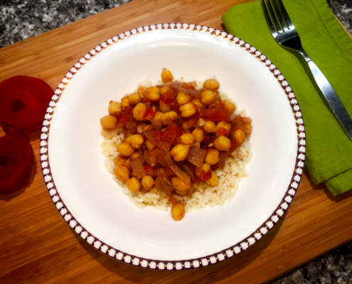 Vegan Chickpea Masala