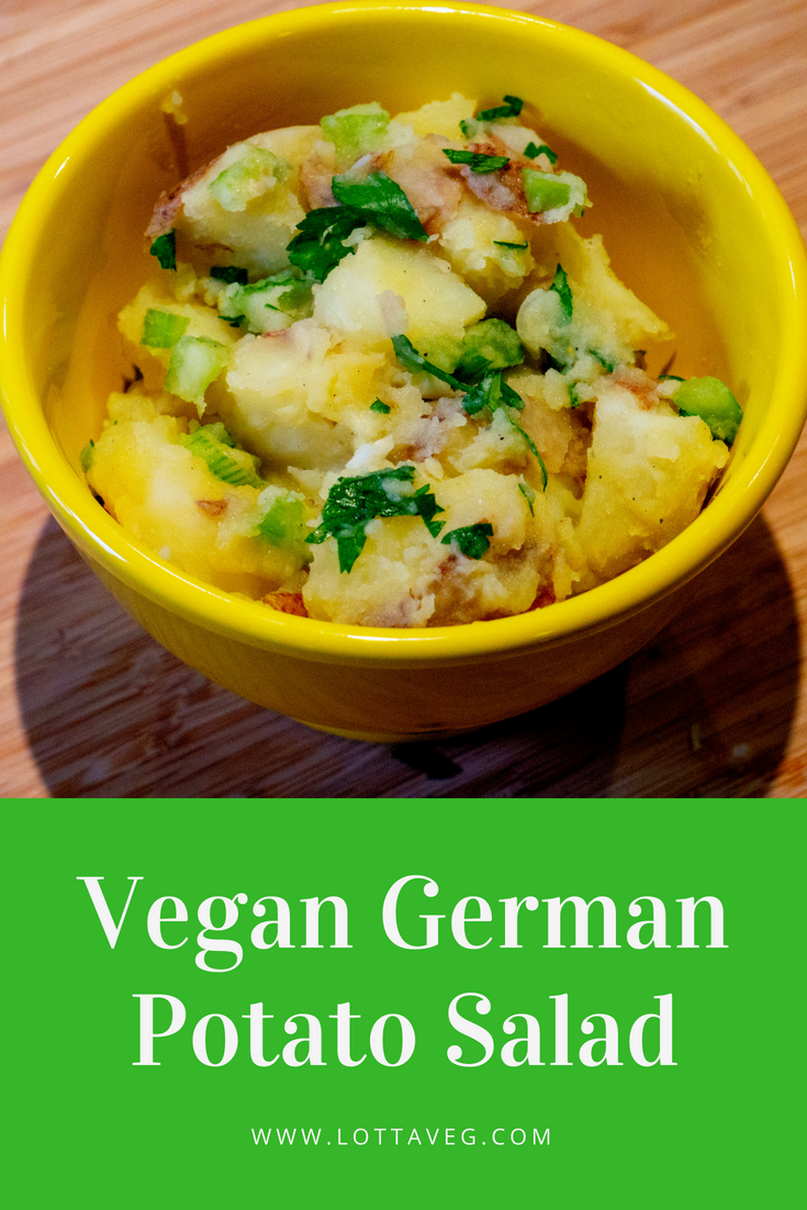 Vegan German Potato Salad Pin