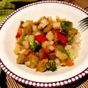 Vegan Sweet and Sour Seitan