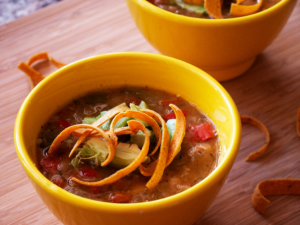 Vegan Tortilla Soup 2