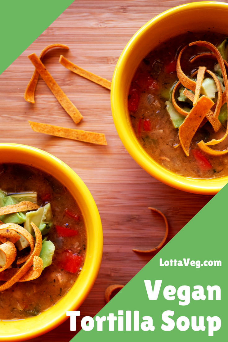 Vegan Tortilla Soup Pin