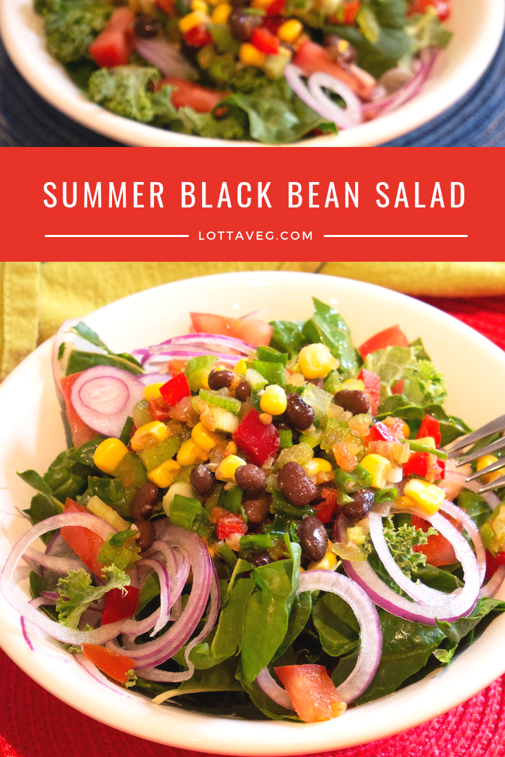 Summer Black Bean Salad Pin