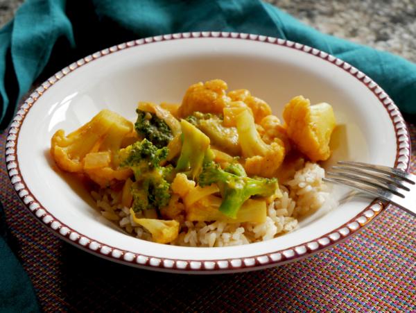 Vegan Curry Vegetables