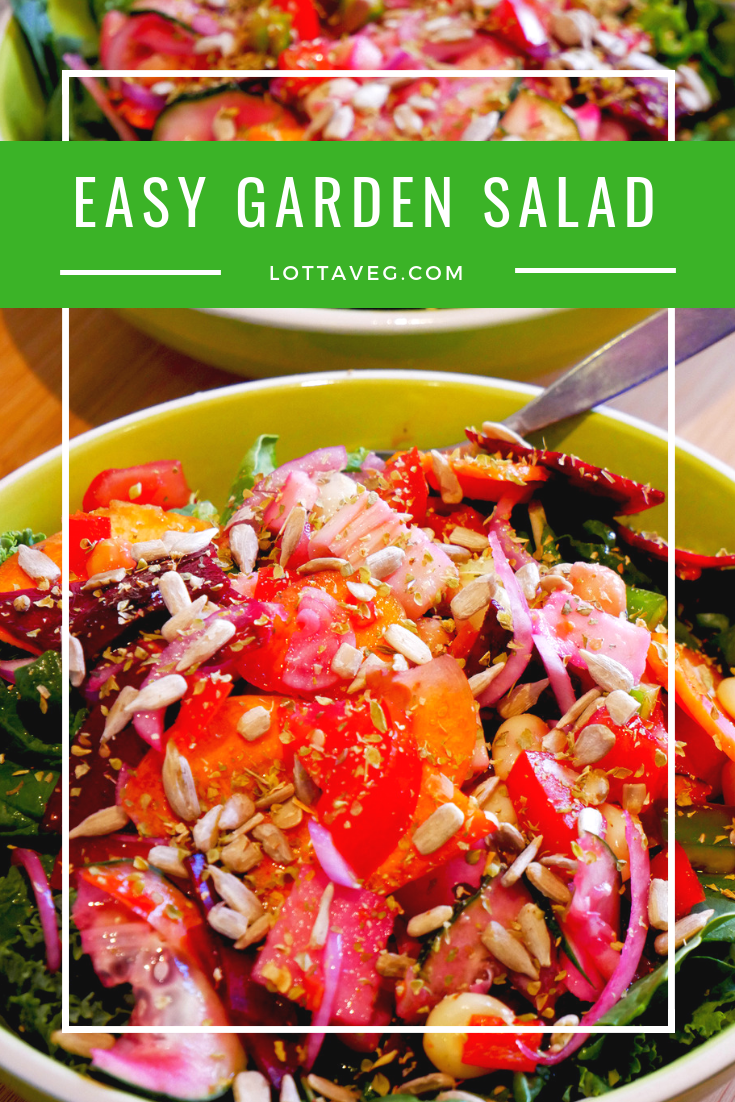 Easy Garden Salad Pin