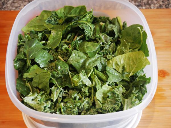 Easy Garden Salad Prep 2