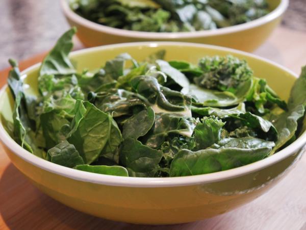 Easy Garden Salad Prep 6