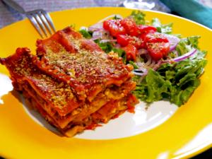 Easy Vegan Lasagna