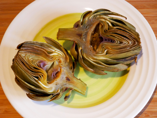 Vegan Artichokes Top