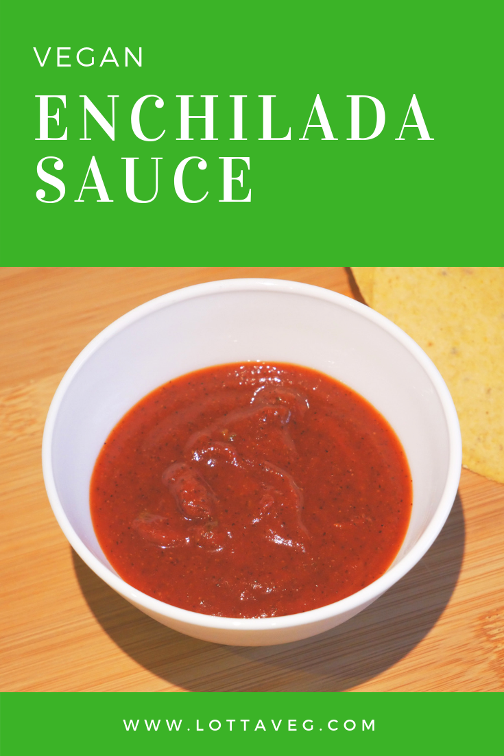 Vegan Enchilada Sauce Pin