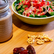 Date Walnut Vinaigrette