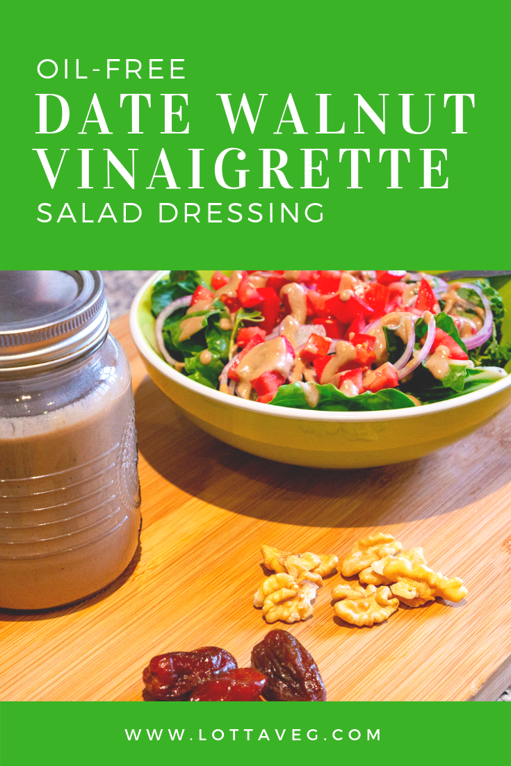 Date Walnut Vinaigrette Pin
