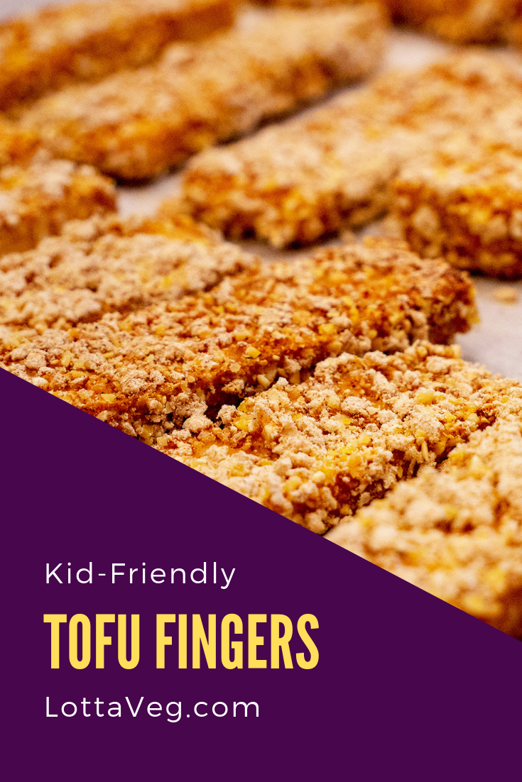 Kid Friendly Tofu Fingers Pin