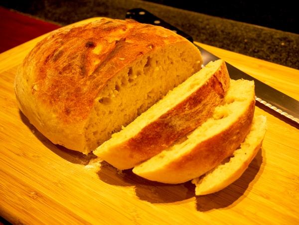 Oil Free Bread Cut