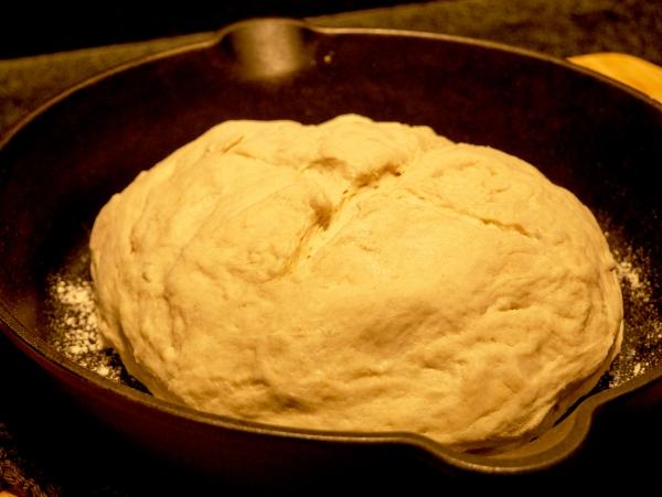 Oil Free Bread Dough